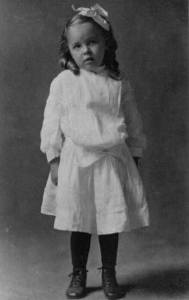 Mabel Marshall - age 4