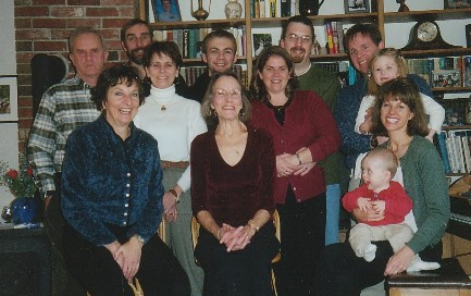 Phillip & Evelyn Kalloch family - 2001