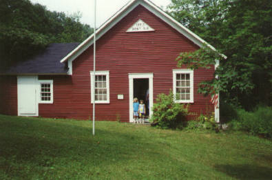 South Sutton, NH schoolhouse